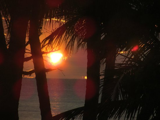 Castaways Resort & Spa Mission Beach: Amazing sunset
