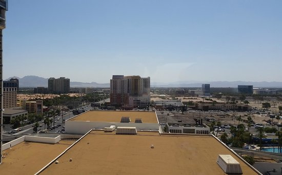 Bally's Las Vegas Hotel & Casino: View from room 1654