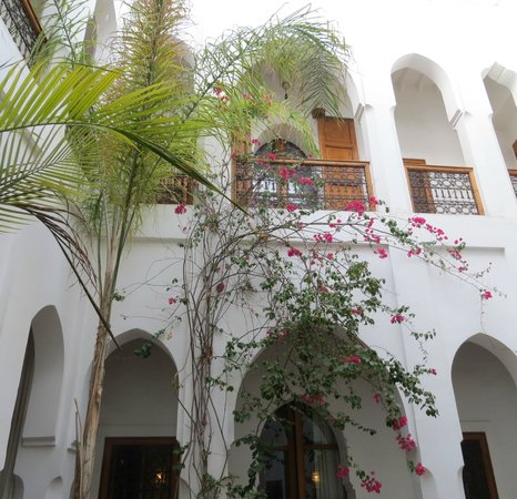 Riad Miski : Looking up from the first floor