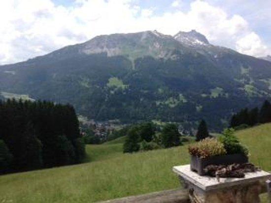 Berghaus Alpenrösli: Aussicht