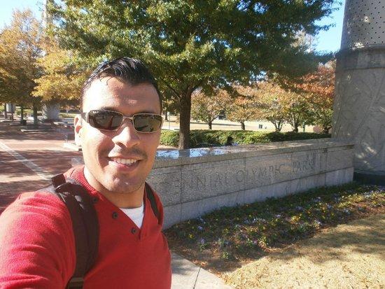 Centennial Olympic Park : Entrada do Parque