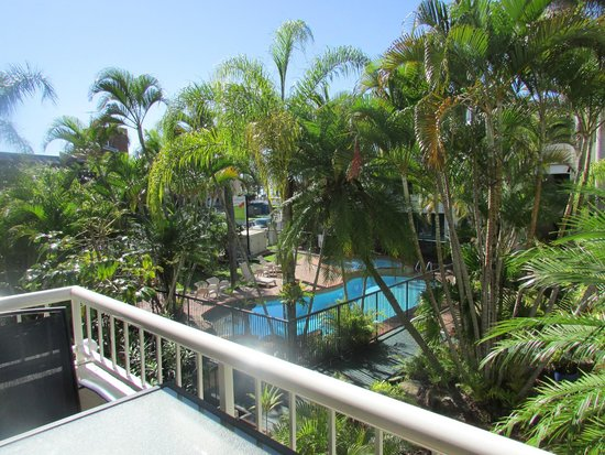 Headland Gardens Holiday Apartments Sunshine Coast: View from balcony