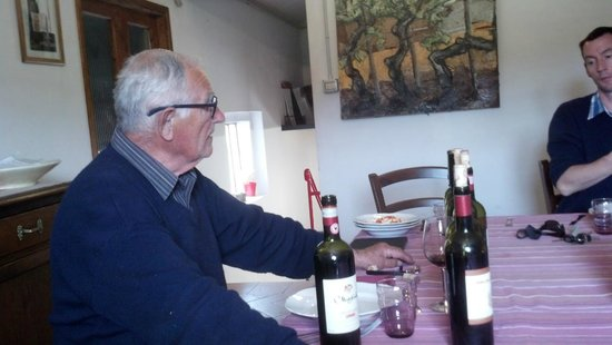 A Slow Day in Tuscany : The Vinter