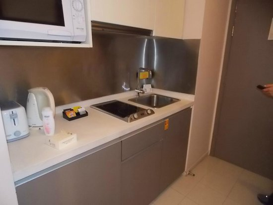Citadines Central Xi'an: pequena cozinha
