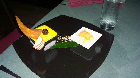 Rainforest Hideaway: Dessert