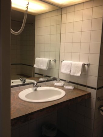 Thon Hotel Oslofjord: Bagno