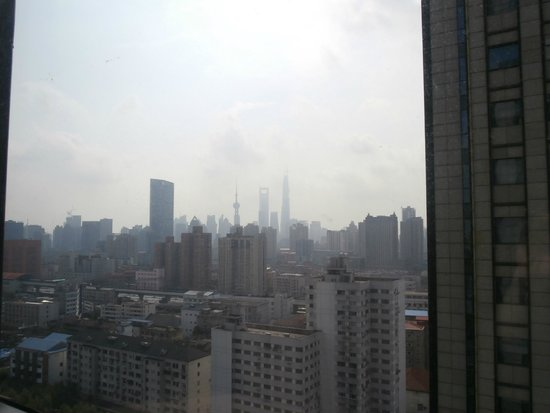 Mingde Grand Hotel Shanghai: Window view