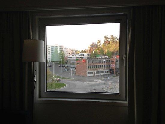 Thon Hotel Oslofjord: vista dalla camera