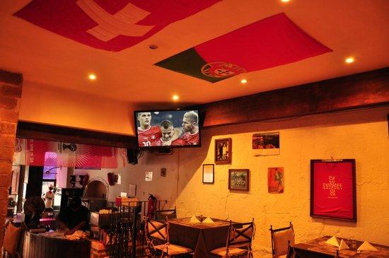 chez  christophe: Les matches de football sur grand écran
