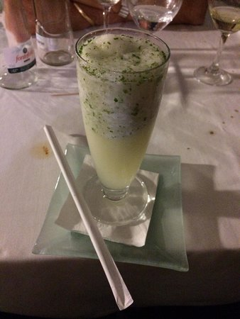Carmen de Aben Humeya: Lemon sorbet with spearmint