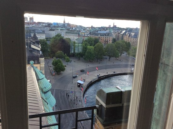 Radisson Blu Strand Hotel, Stockholm : View to the north west