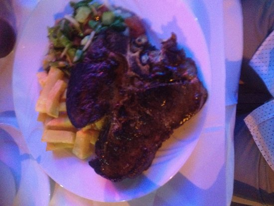 Andy's Restaurant & Bar : T -bone a must try