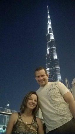 Burj Khalifa tirada do Dubai mall