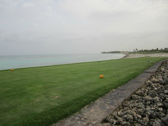 La Cana Golf Course : Arrecife - #8 tee box