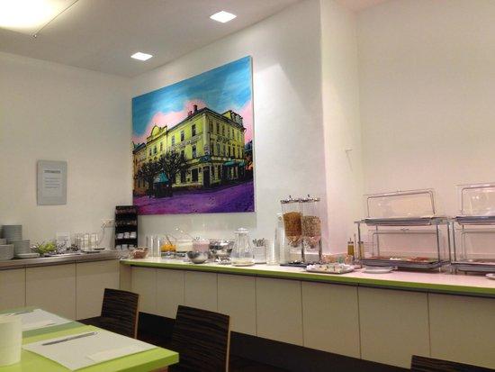 Hotel Hofwirt Salzburg: Desayuno
