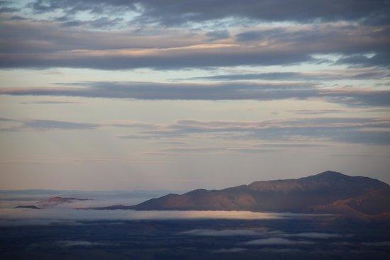 Kepler Track: Vue au soir, depuis le Mont Luxmore