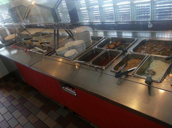 China Chef INC: Salad buffet