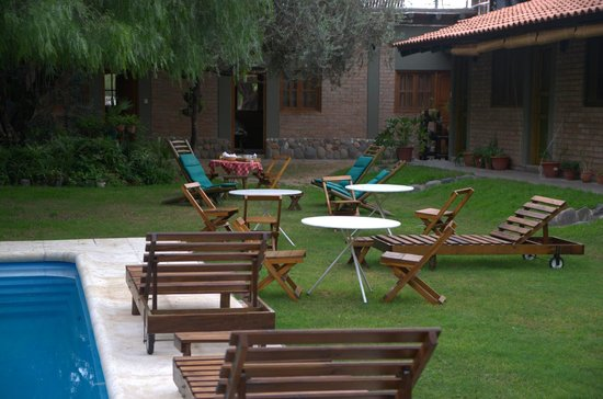 Cerro Del Valle Hotel Rustico: Patio