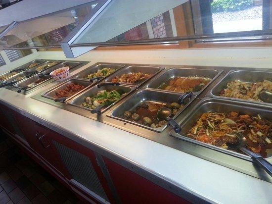 China Chef INC: Entrees buffet