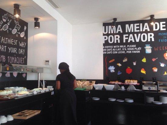 Hotel Gat Rossio: Buffet du petit déjeuner