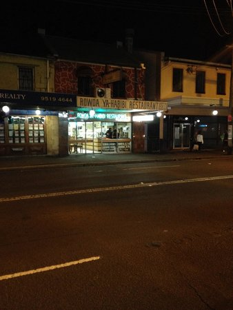 Rowda Ya-Habibi: Looking from across King Street Newtown.