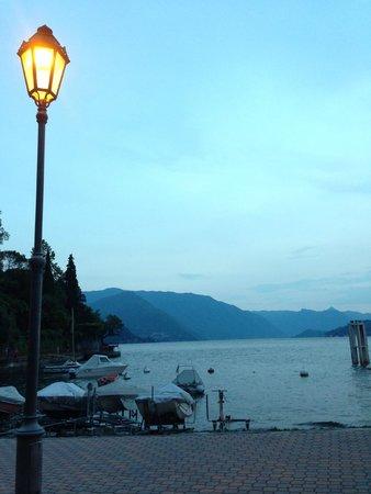 View in evening from Villa Torretta