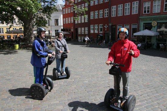 Segway Tours Copenhagen: Guide Explaining Area