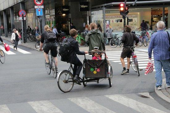 Segway Tours Copenhagen: Daddy Daughter Bike