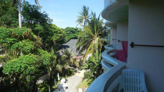 Chaba Samui Resort : балкон