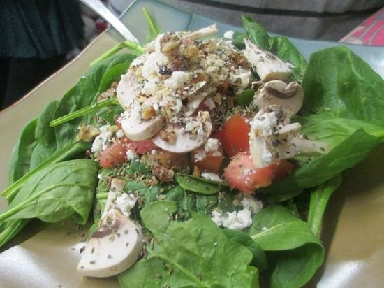 The Soup Shack: Spinach Salad with Feta