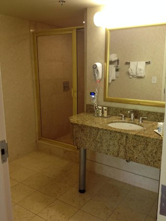 Wingate by Wyndham Atlanta/Buckhead : Executive Suite shower
