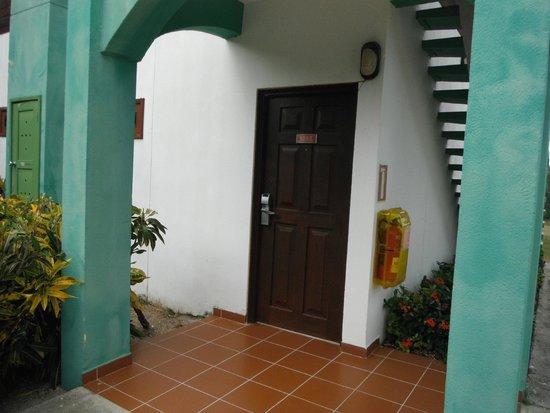 Iberostar Mojito: Front door of Room
