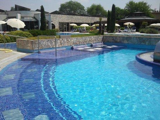 Hotel Sollievo Terme: Idromassaggi esterni