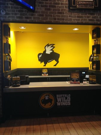 Front Counter - Take Out Orders - Picture of Buffalo Wild Wings ...