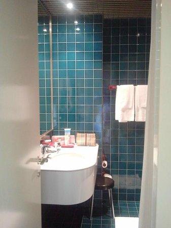 Hotel Sollievo Terme : Bagno camera