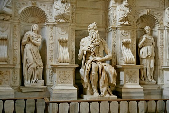 San Pietro in Vincoli: Моисей
