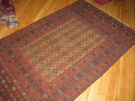 Sultan Carpet and Kilim : Our Turkmen rug from South Eastern Turkey near Syrian border