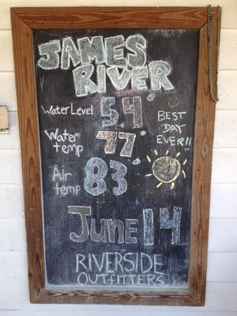 James River : Try whitewater paddle boarding with riverside outfitters!