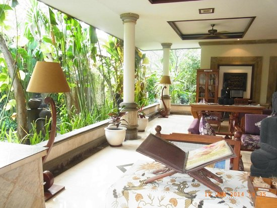 Kuta Seaview Boutique Resort & Spa: Lobby front