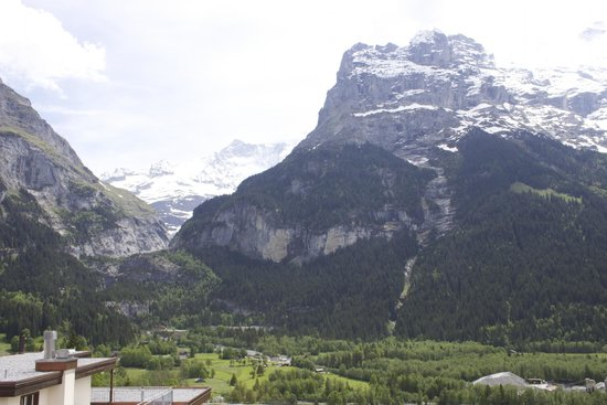 Hotel Eiger Grindelwald: View from our balcony.