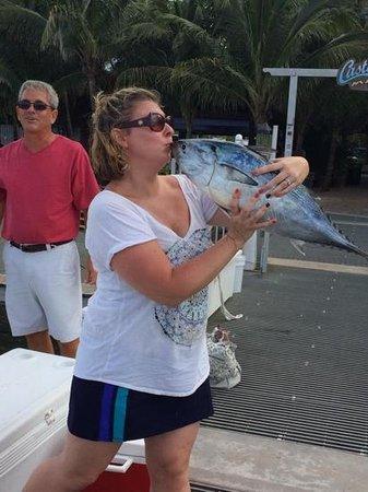 Mystic Rose Fishing Charters: my bonita