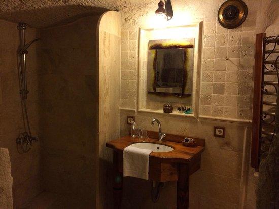 Koza Cave Hotel: Camera 8 bagno