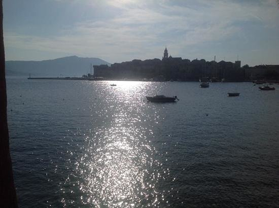 Marko Polo Hotel : Early morning view of Korcula Town
