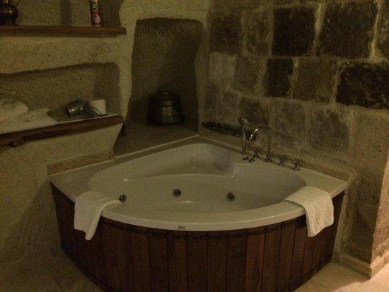 Koza Cave Hotel: Camera 8, bagno