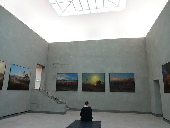 New Pinakothek : 静かに楽しめました