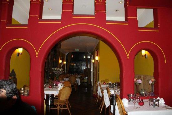 Indian Restaurant Maharani: Inside View of Maharani