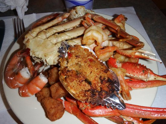 Crab legs all you can eat shrimp scallops picture of for All you can eat fish