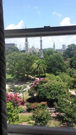 Francis Marion Hotel: View from room