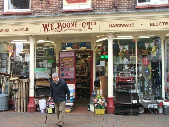 Poole Harbour: Old fashioned hardware shop