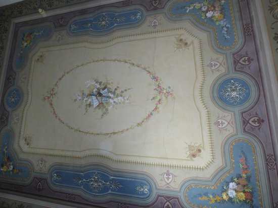 FH Villa Fiesole Hotel: Beautiful ceiling in room